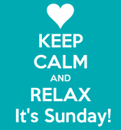 keep-calm-and-relax-it-s-sunday